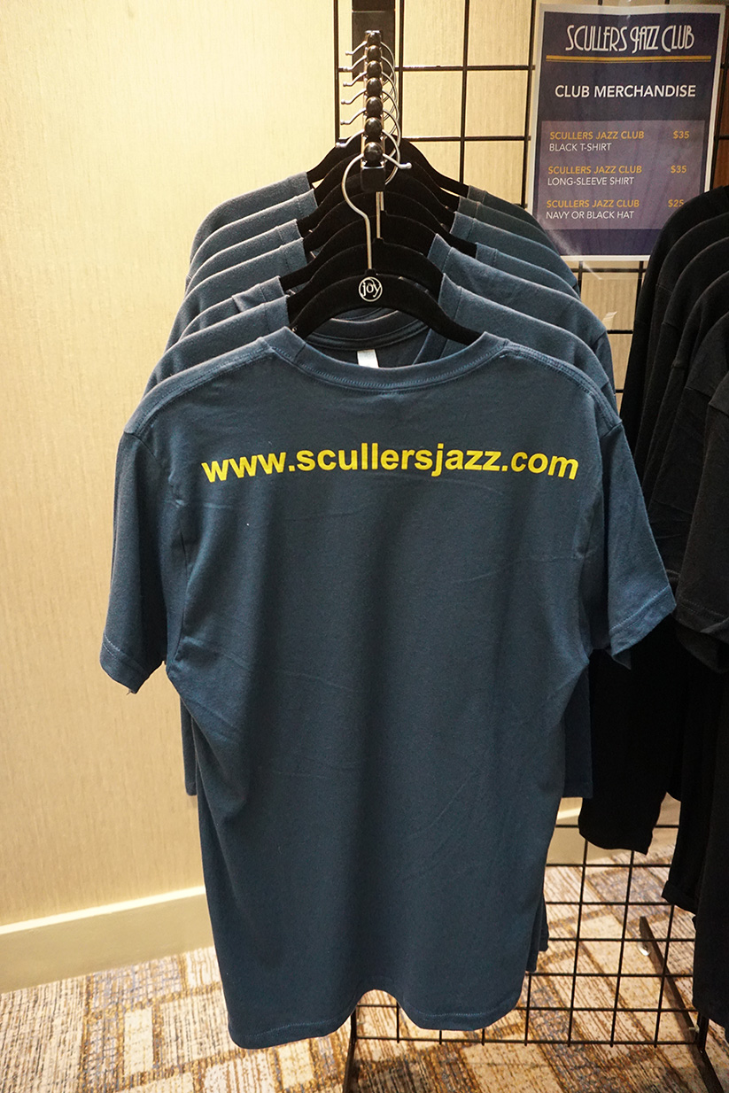 Scullers Jazz Club | Scullers Merch!